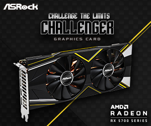 ASRock Radeon RX 5700 XT Front page bottom