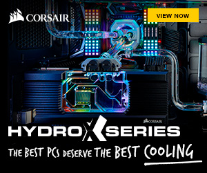 Corsair Hydro X buttom Category