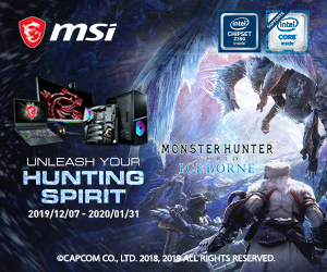 MSI Hunting Spirit banner