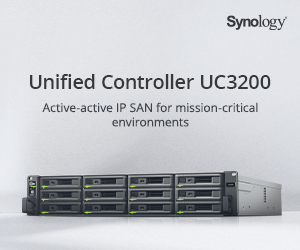 Synology UC3200 banner