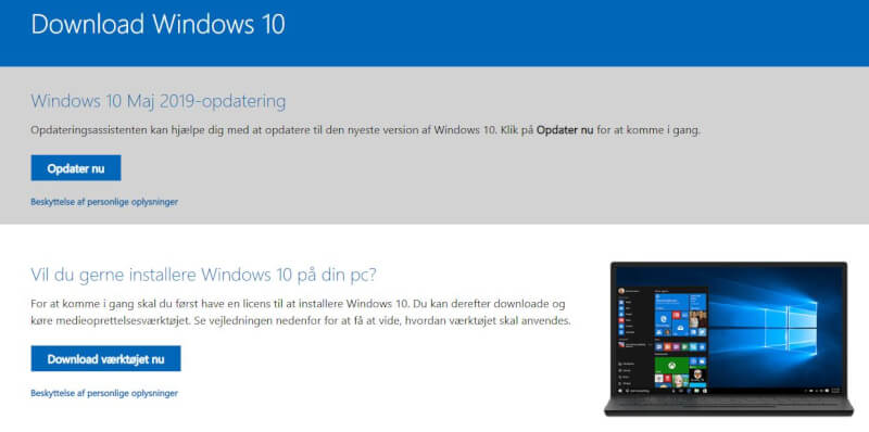Opgrader Windows 7 til Windows 10 gratis.JPG