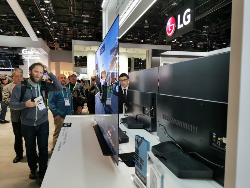LG OLED CES 2020 gaming