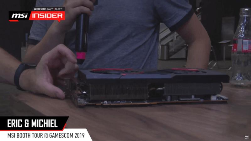MSI Radeon RX 5700 XT leak