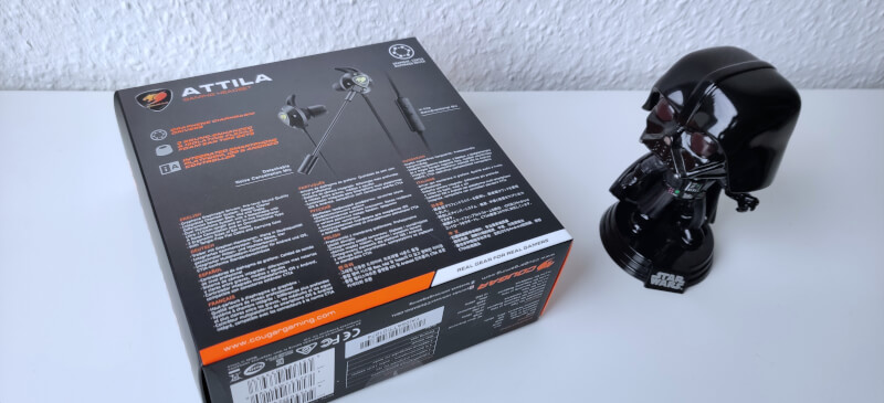 headset in-ear Cougar Attila gaming