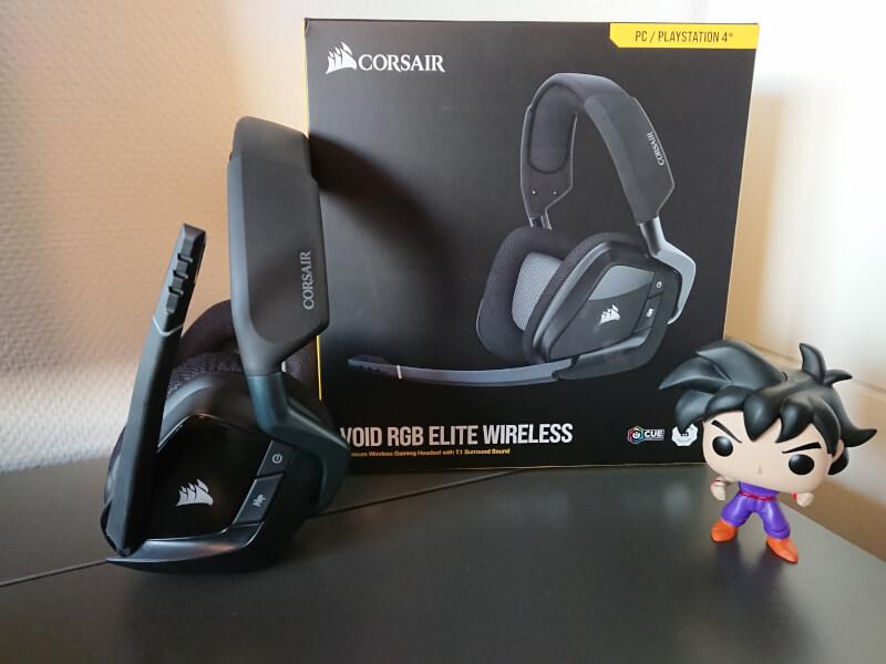 Void Elite Wireless mikrofon corsair RGB