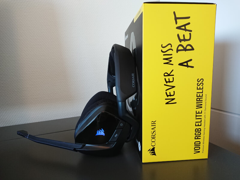 gaming mikrofon headset Corsair Void Elite rgb