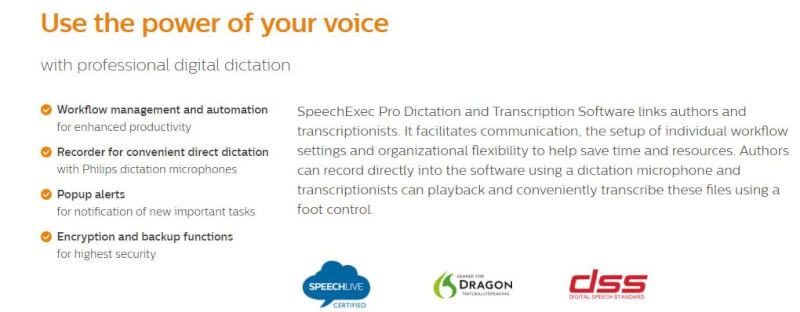 SpeechExec Pro software.JPG