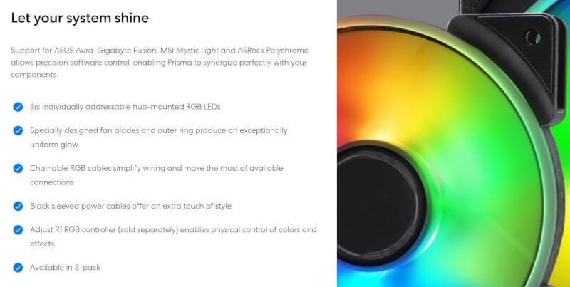 Fractal Design Prisma AL-12 og AL-14 PWM