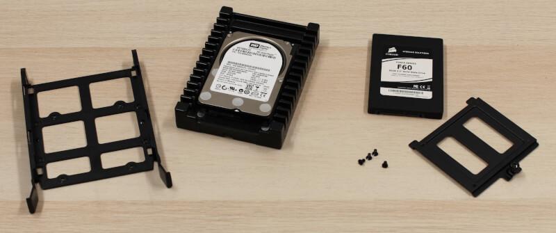 110R trays HDD Midtower kabinet Corsair glas rgb budget