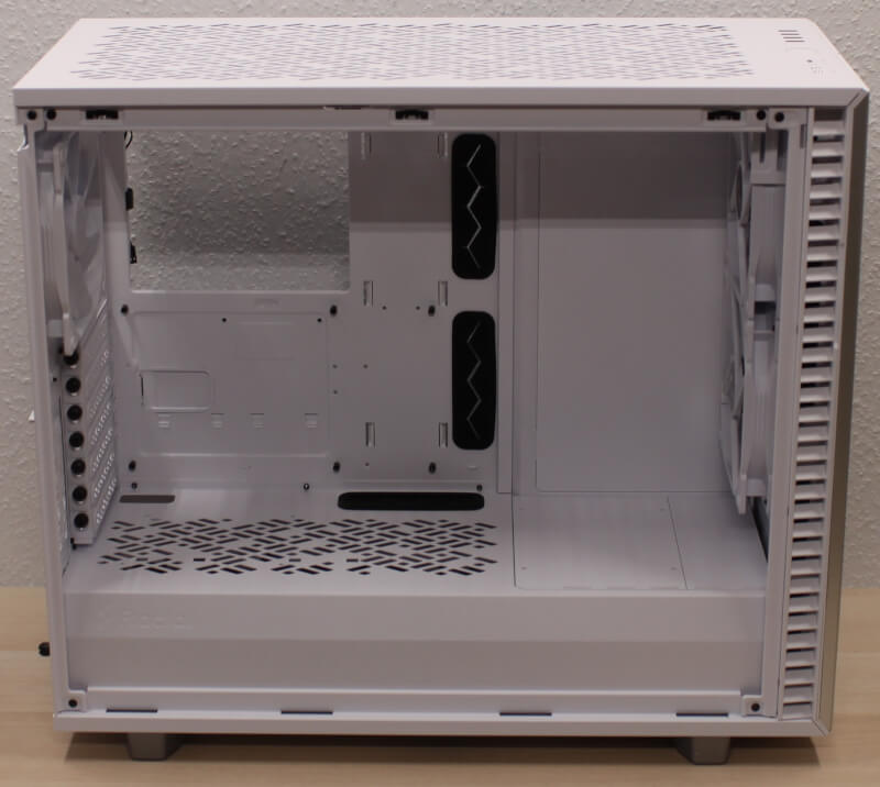 Fractal gaming Design midi Define 7 midtower kabinet hvidt test