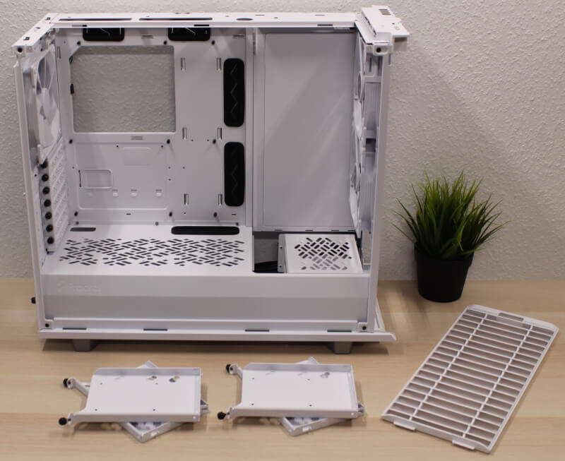 miditower Fractal modulært gaming Design Define 7 harddisk skuffer