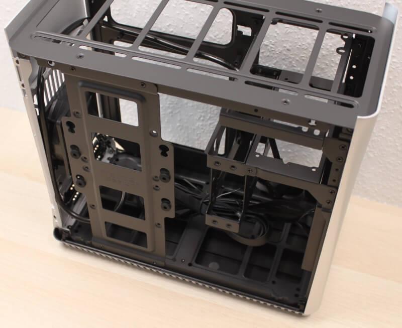 aluminium kabinet ITX gaming Fractal Tool free Era træ sidepaneler Design