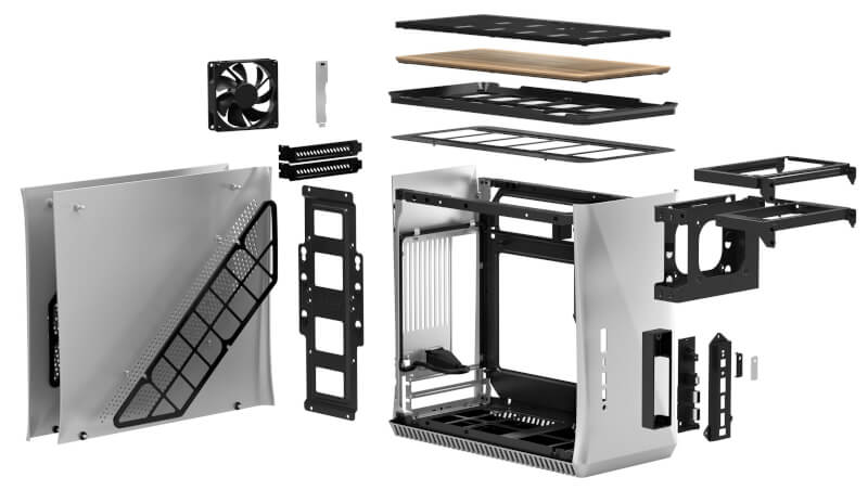 kabinet hardware test strømforsyninger SFX Era ITX Fractal design gaming Design review