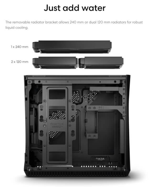 Fractal Design ERA ITX kabinet