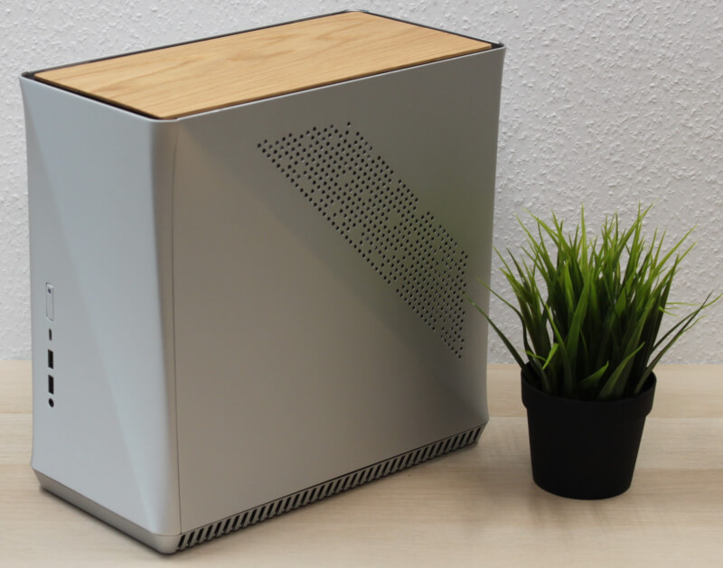 Fractal Design Era ITX - Gold TG - Kabinet - Minitower - Guld