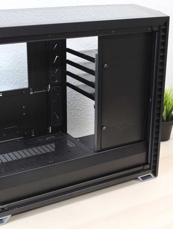 Vector psu cover Design RS kabinet gaming afskærmet kabinet Fractal