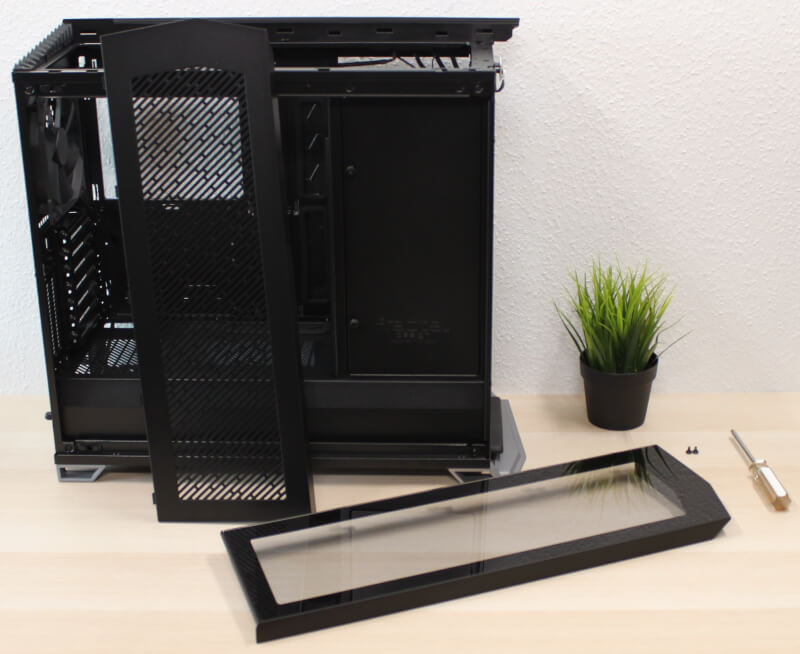RS Vector Tempered Glass SSD Design miditower afskærmet kabinet Fractal