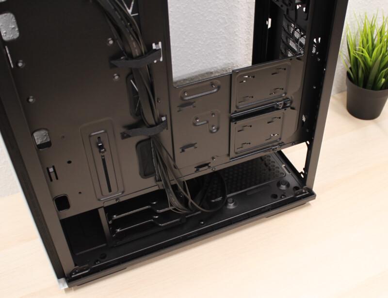 kabinet GamerStorm kabelføring ATX Macube 310P: TEST