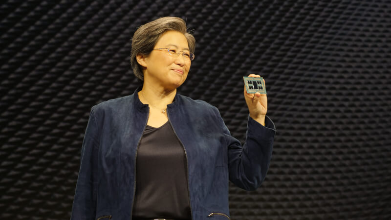 Lisa Su CES 2020 Threadripper 3990X