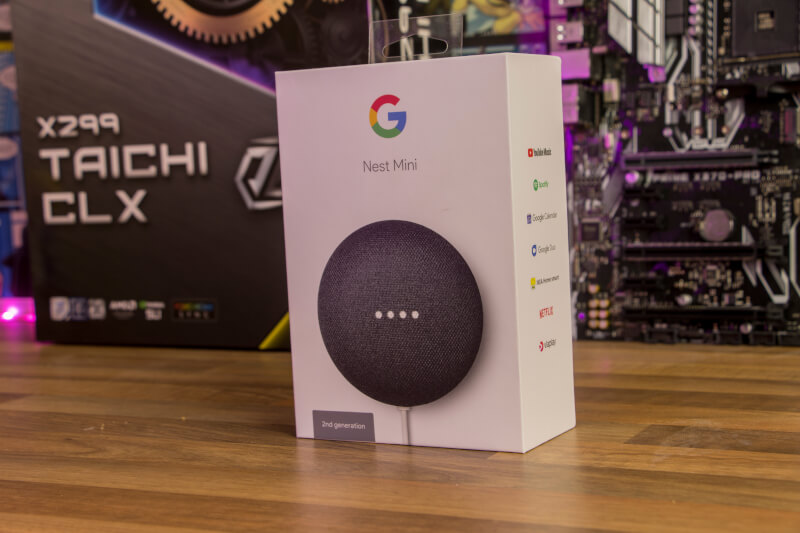 Google Nest Mini speaker