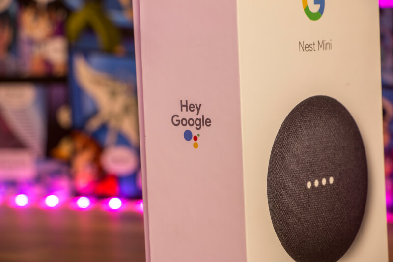 Nest Mini Google højtaler smart home
