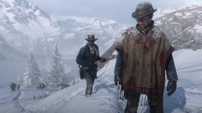Red Dead Redemption 2 screenshots PC intro