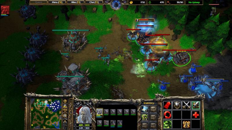 Warcraft Reforged ingame
