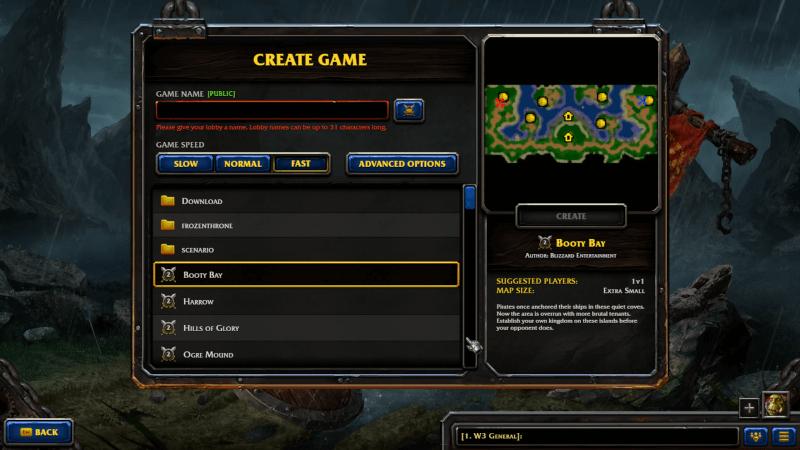 map Warcraft Reforged