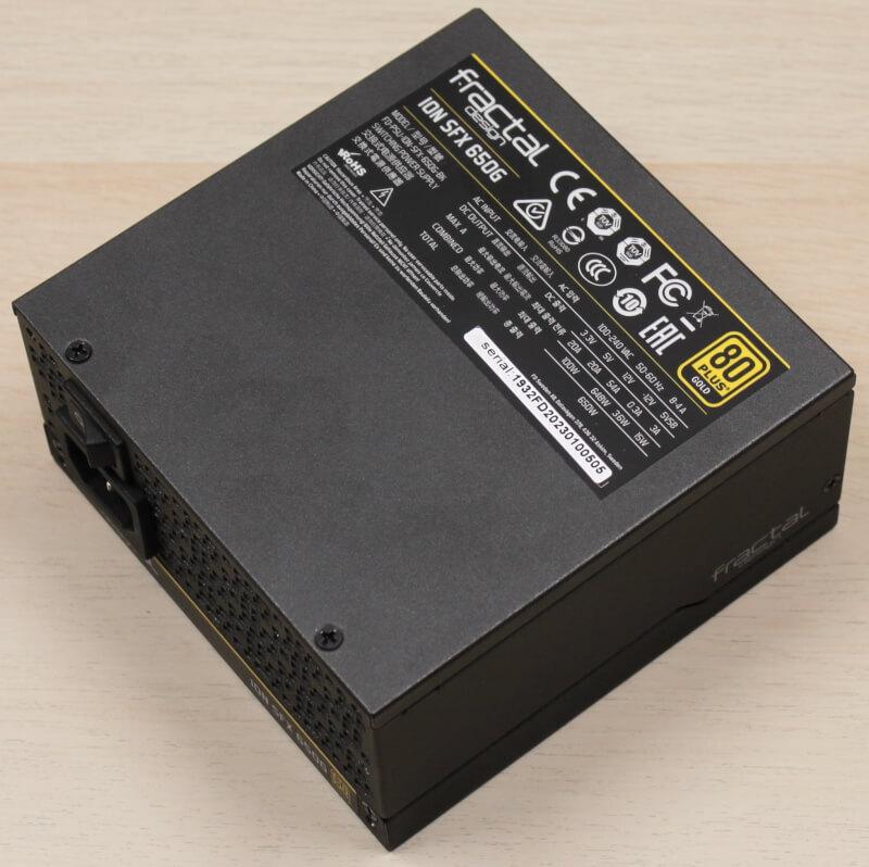 Design PSU Gold 120mm 650watt Fractal PCI-express Ion SFX semi passiv blæser