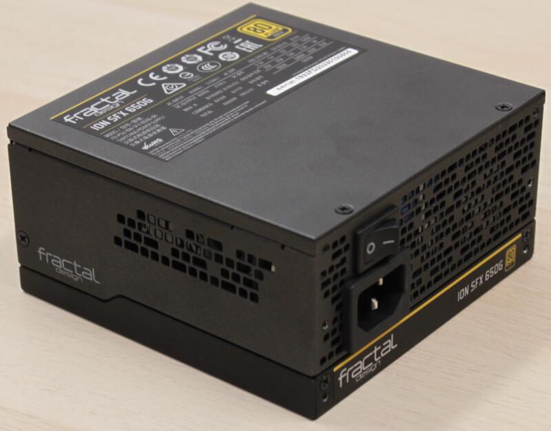Design gamer Gold ventilation 650watt Fractal PCI-express Ion SFX semi passiv sfx