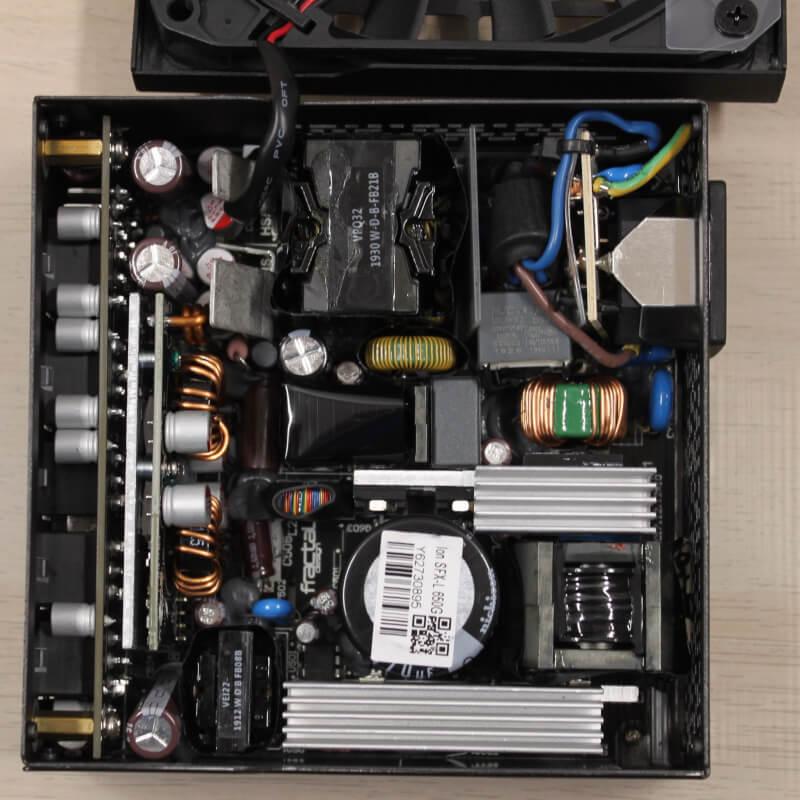 Design Gold interface 650G Fractal PCI strømforsyning Ion modulært SFX passiv