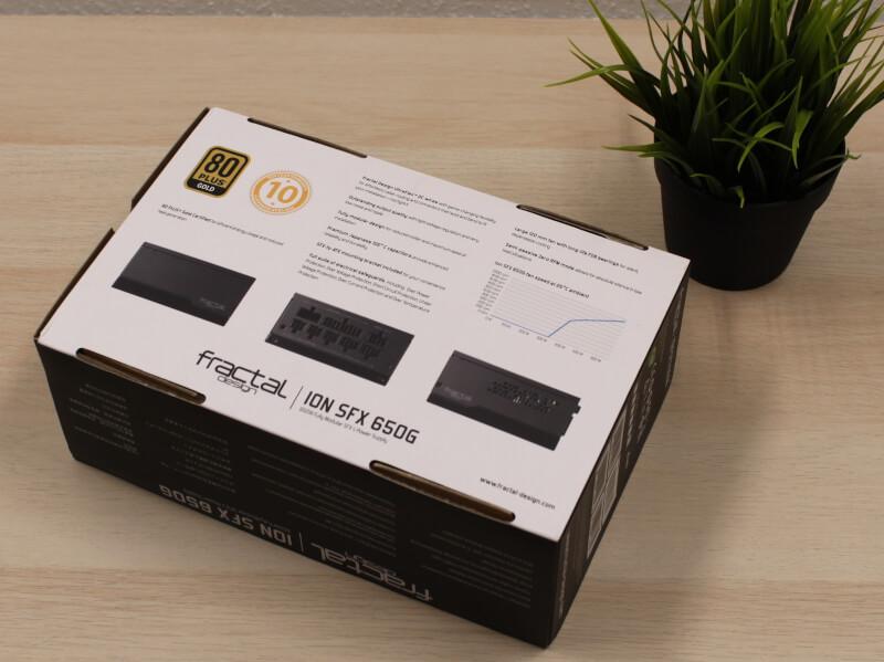 Fractal Design Ion SFX Gold 650G strømforsyning