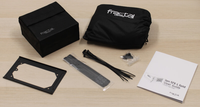 PSU Fractal modulær Design Ion SFX Gold 650G: TEST