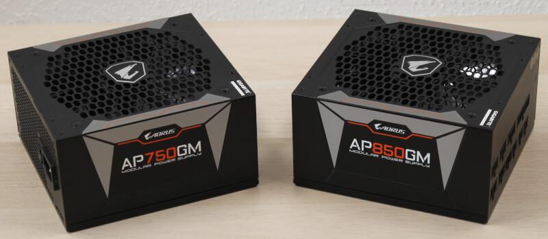 strømforsyning aktiv køling EPS AORUS P750W P850W Gaming 80 plus gold