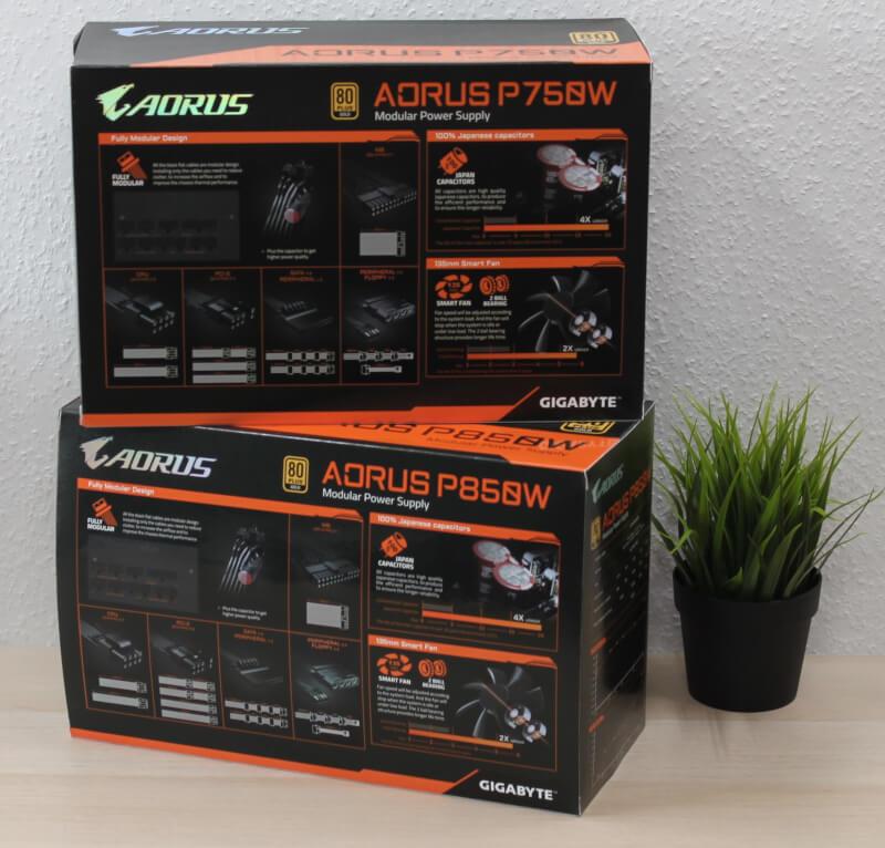 AORUS P750W Gaming strømforsyninger