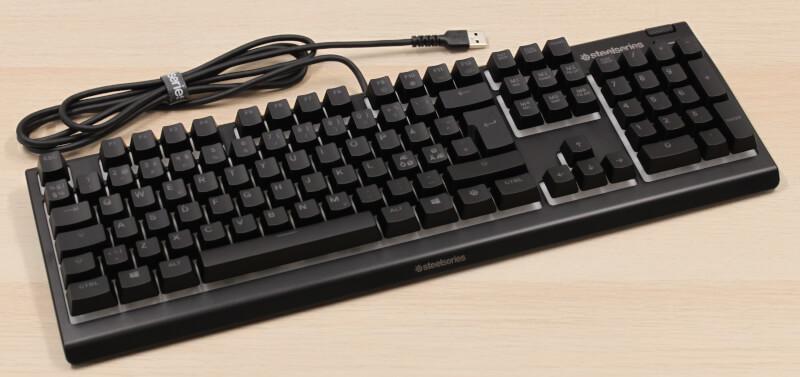 design test Apex 3 Tastatur magneter Gaming SteelSeries keyboard gaming rgb