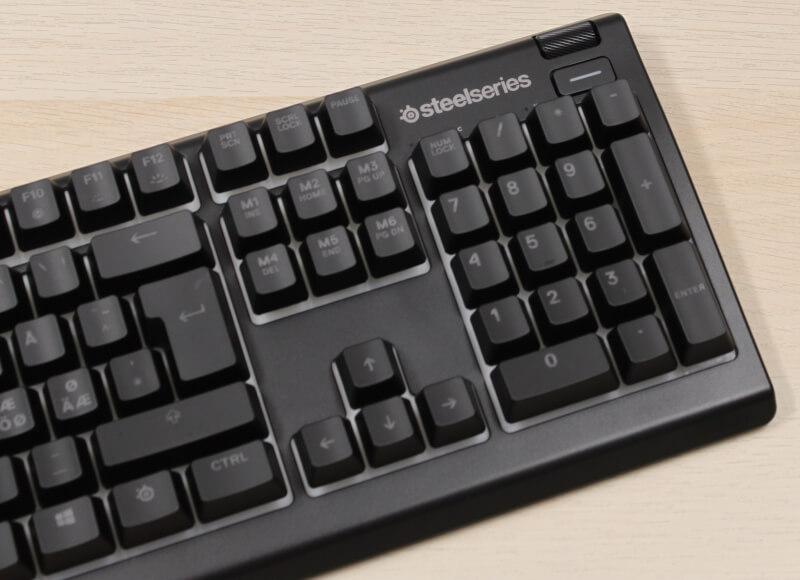 fps test Apex 3 Tastatur numpad Gaming SteelSeries keyboard gaming rgb