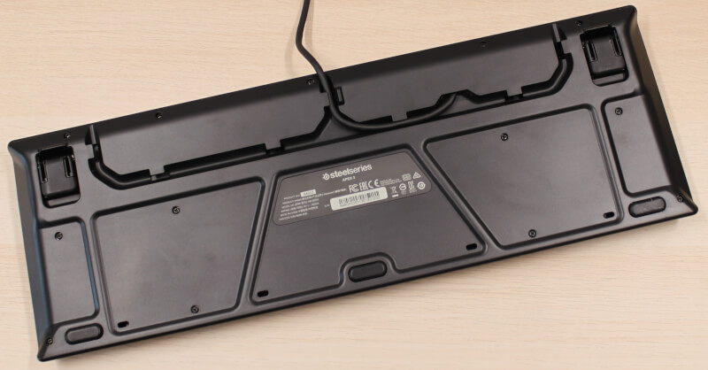Membrane Gaming Tastatur SteelSeries switche test gamingkeyboard rgb Apex 3