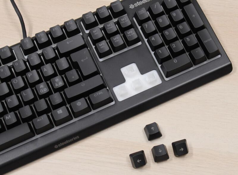 Membrane Gaming wisper SteelSeries switche gamerkeyboard rgb Apex 3