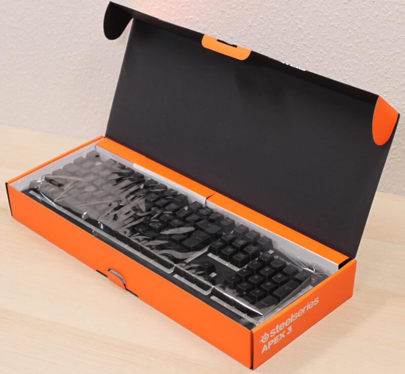 test af SteelSeries Apex 3 Gaming keyboard