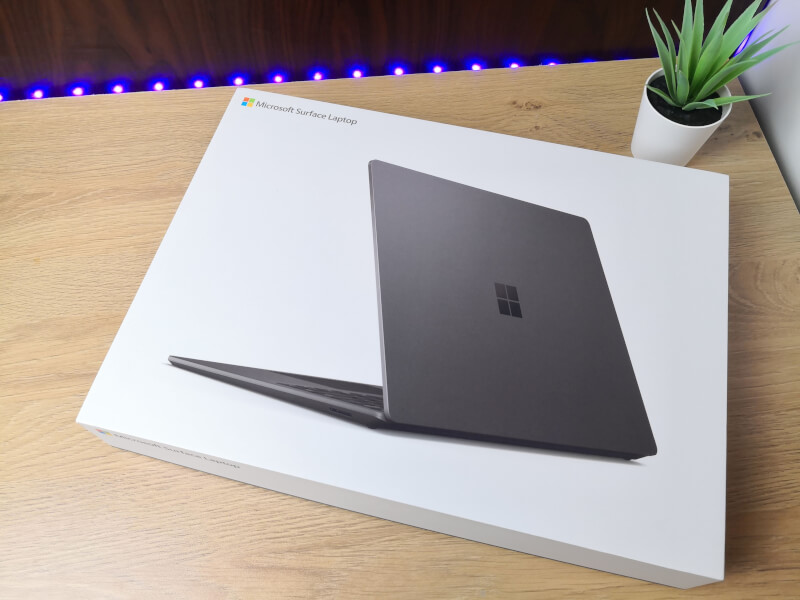 Microsoft Surface Laptop 3: