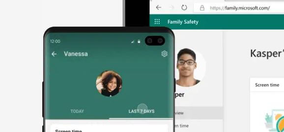 microsoft family safety app