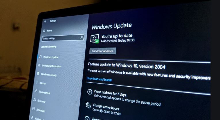 windows 10  patch tuesday 2020