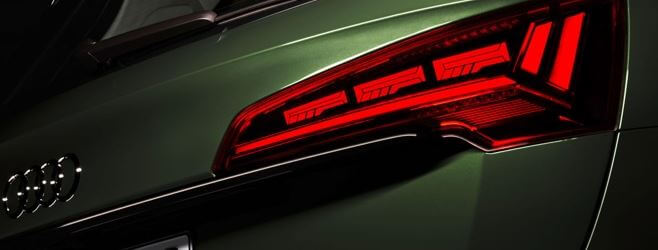 oled tech audi baglygte