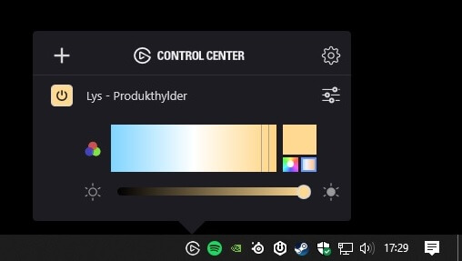 control_center_windows_simpel_enkel_funktionel_elgato_led_strip