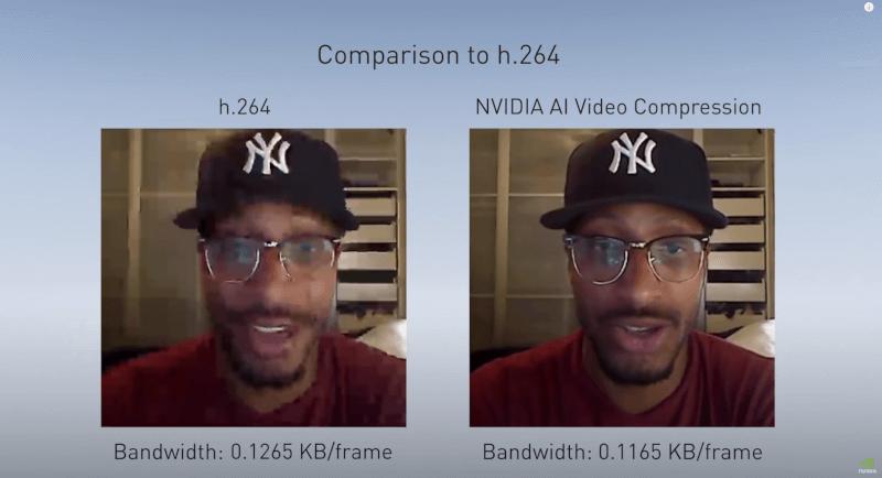 nvidia-ai-video-maxine-bandwidth