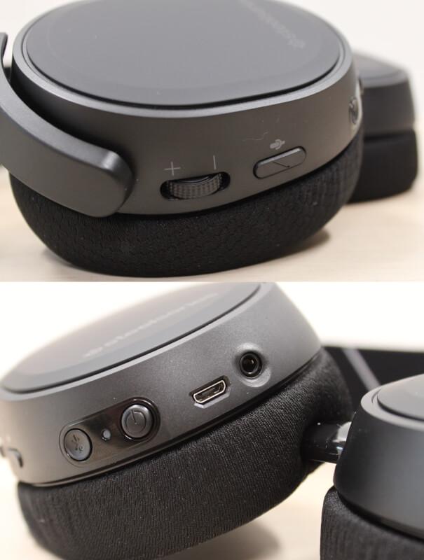 knapper_og_tilslutninger_højre_ørebøf_steelseries_Arctis_9_gaming_headset