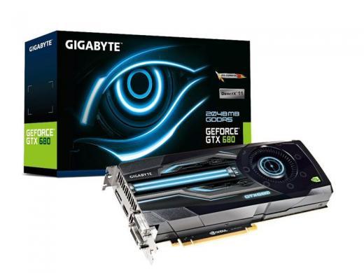 Her er de mange GeForce GTX 680 grafikkort