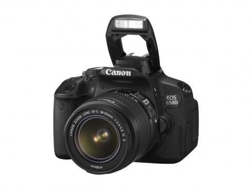 Canon unveils the new EOS 650D