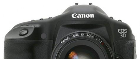 Rygter om et nyt Canon 3D X studie kamera